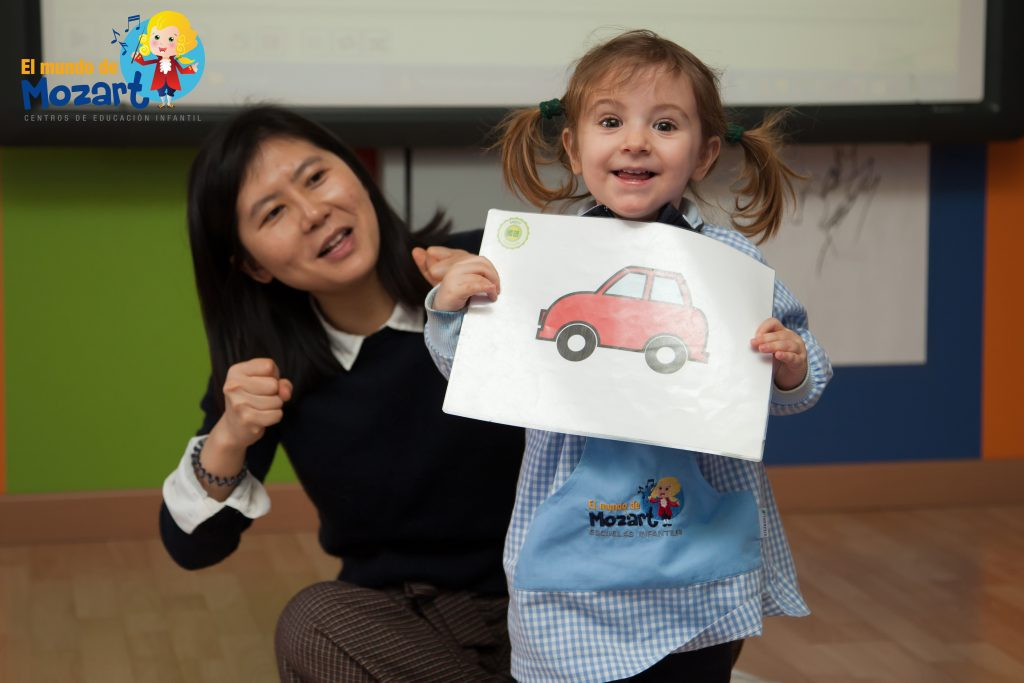 Enseñar chino a niños