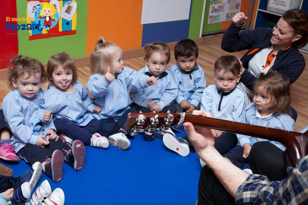 Canciones en educación infantil