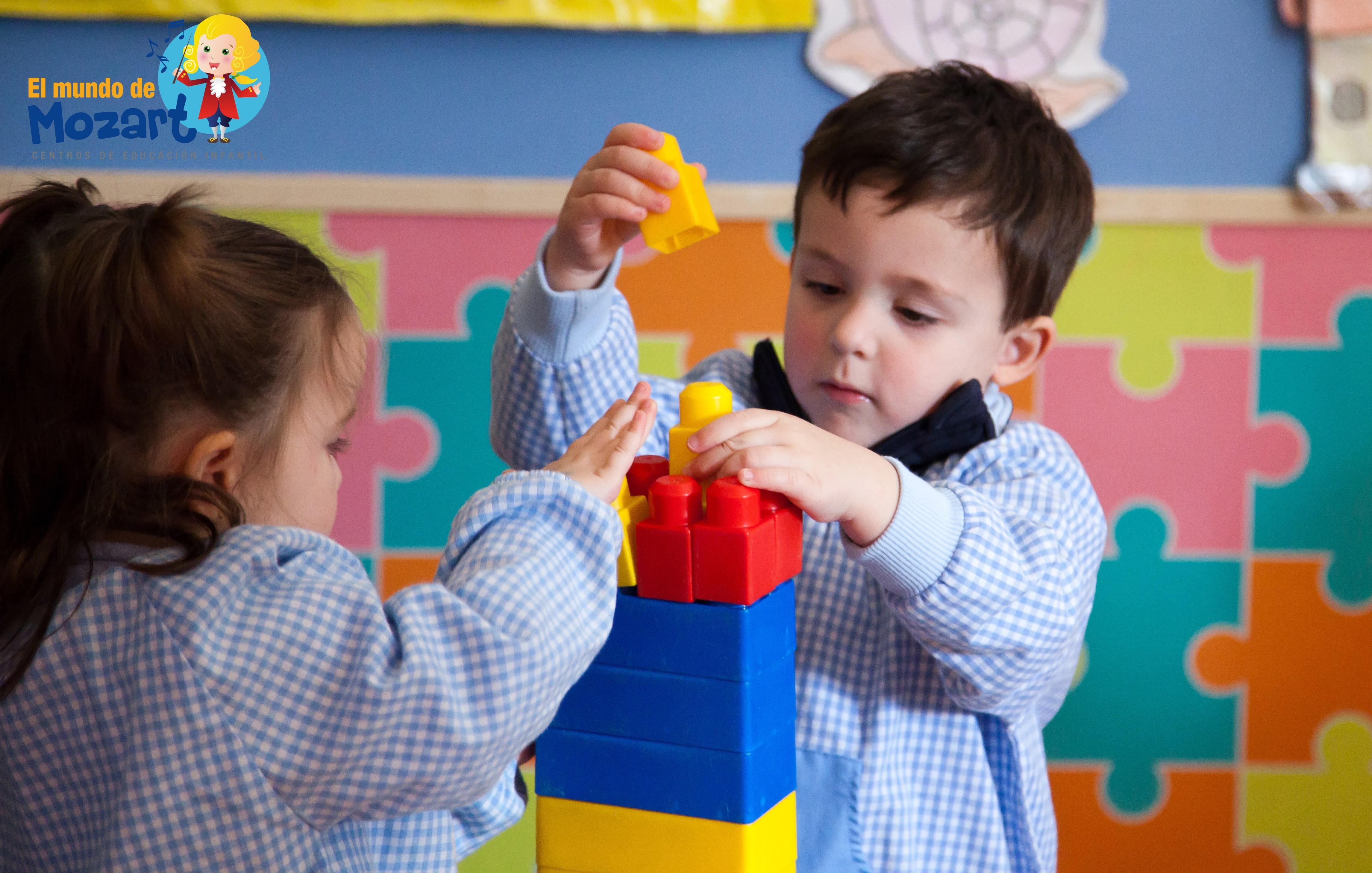 Qué aprenden los niños en la escuela infantil - El Mundo de Mozart