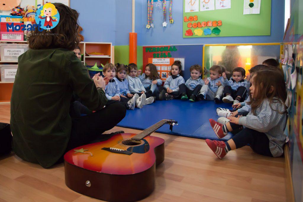 Beneficios de estudiar música en los niños